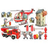 Stickers for Kids: Kit Firefighters  3