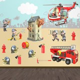 Stickers for Kids: Kit Firefighters  4