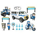 Stickers for Kids: Kit Police 1 3