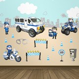 Stickers for Kids: Kit Police 1 4
