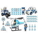 Stickers for Kids: Kit Police 2 3