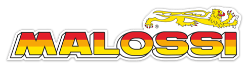 Car & Motorbike Stickers: Malossi logo