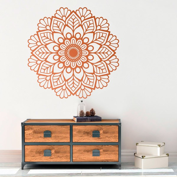 Wall Stickers: Mandala ivy