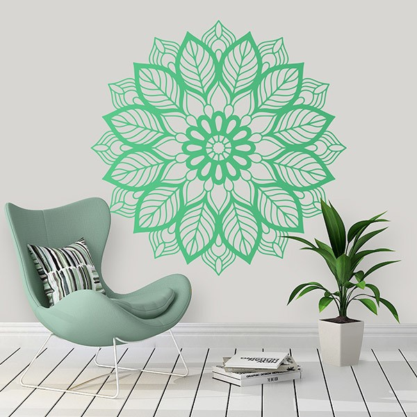 Wall Stickers: Elliptical Mandala