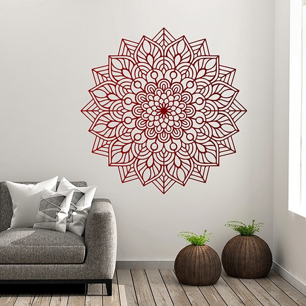 Wall Stickers: Ovated mandala