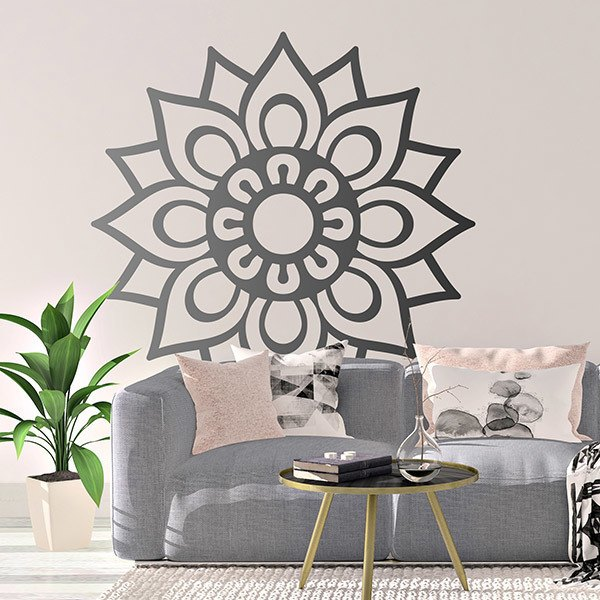 Wall Stickers: Simple Mandala
