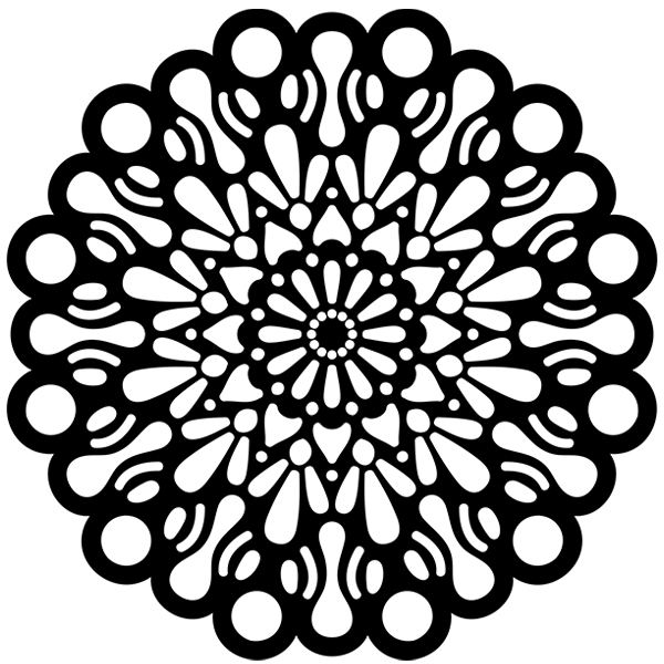 Wall Stickers: Mandala Cosmos