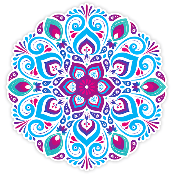Wall Stickers: Psychedelic Mandala