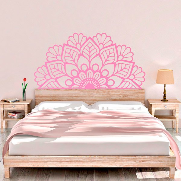 Wall Stickers: Half Mandala Zen