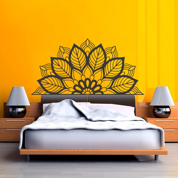 Wall Stickers: Yantra Half Mandala