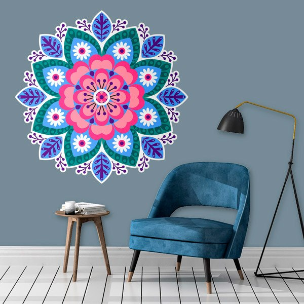 Wall Stickers: Light Mandala