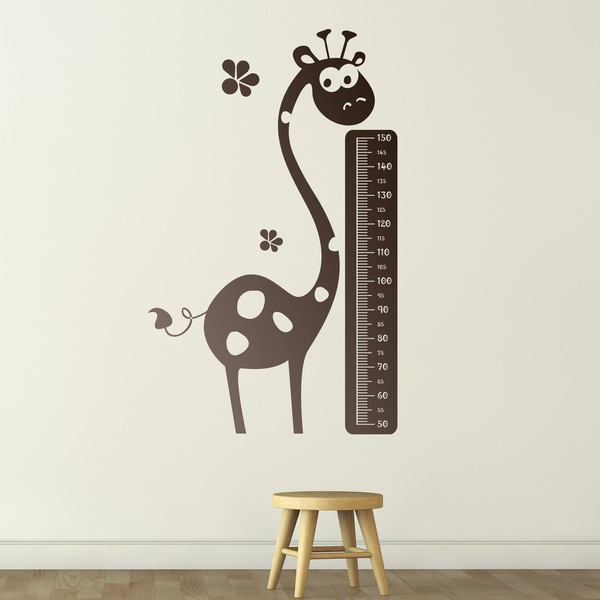 Stickers for Kids: Grow Chart Giraffe