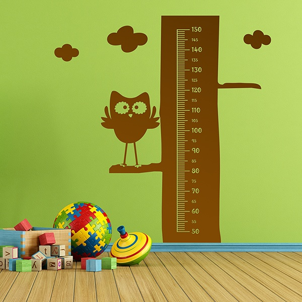 Stickers for Kids: Grow Chart Owl