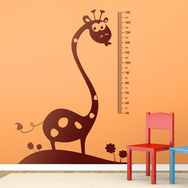 Stickers for Kids: Kid's meter African giraffe