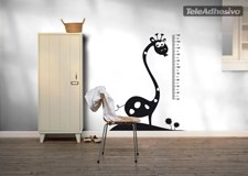Stickers for Kids: Height Chart African giraffe 2