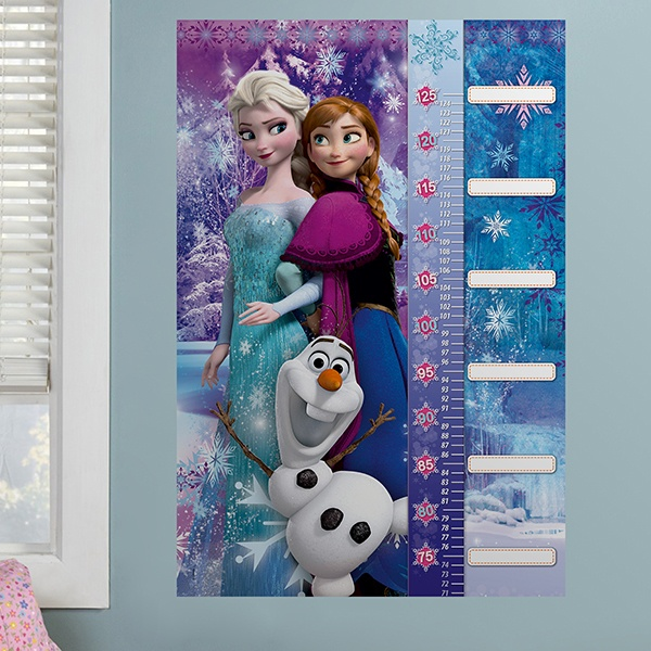 Stickers for Kids: Height Chart Frozen