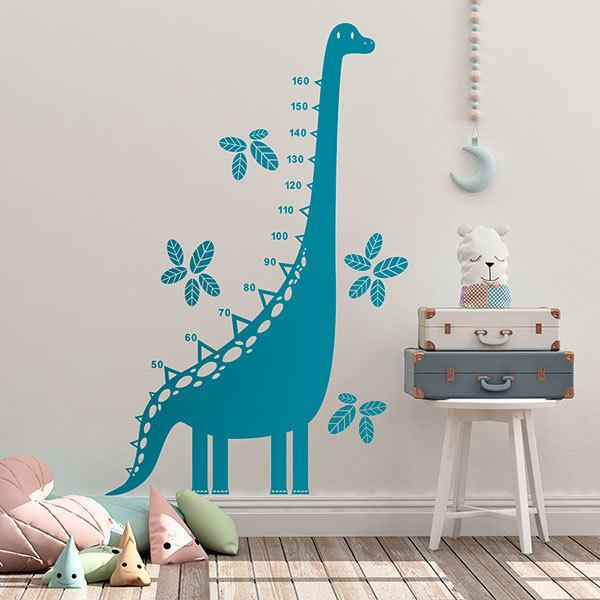 Stickers for Kids: Grow Chart Dinosaur