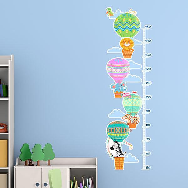 Stickers for Kids: Grow Chart Ballooning