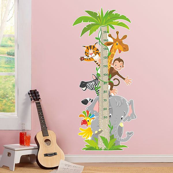 Stickers for Kids: Kid's meter Jungle Animals