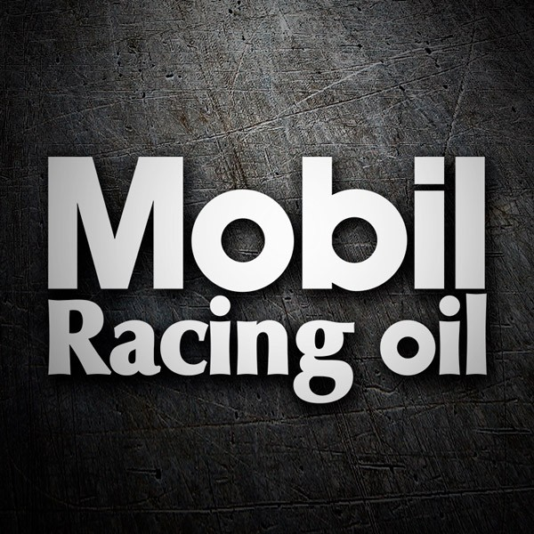 Car & Motorbike Stickers: Mobil Racing Oil