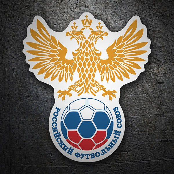 Wall Stickers: Russia - Football Shield