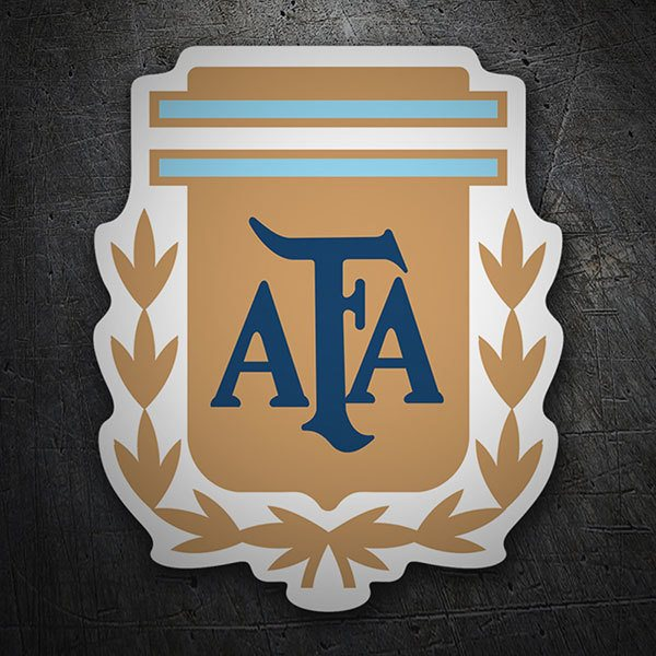 Car & Motorbike Stickers: Argentina - Football Shield