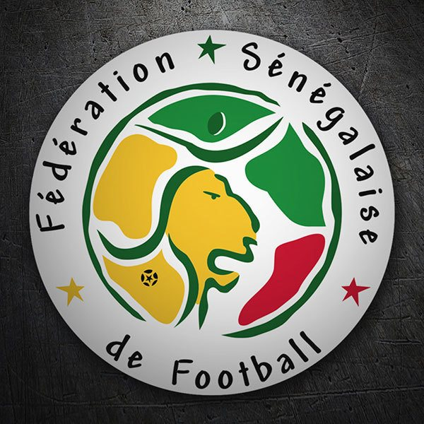 Car & Motorbike Stickers: Senegal  - Football Shield