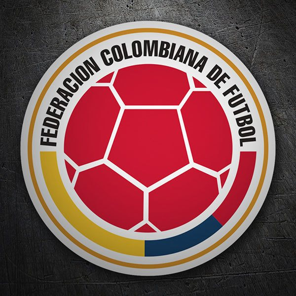 Car & Motorbike Stickers: Colombia - Football Shield