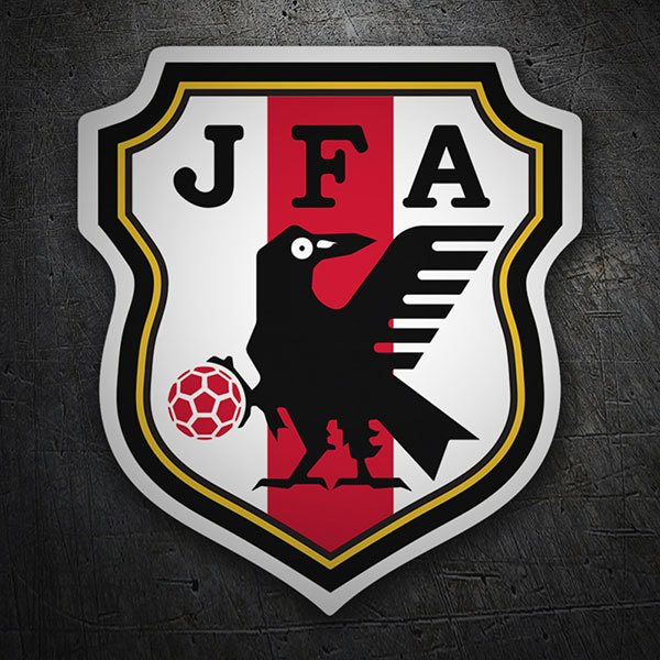 Car & Motorbike Stickers: Japan - Football Shield