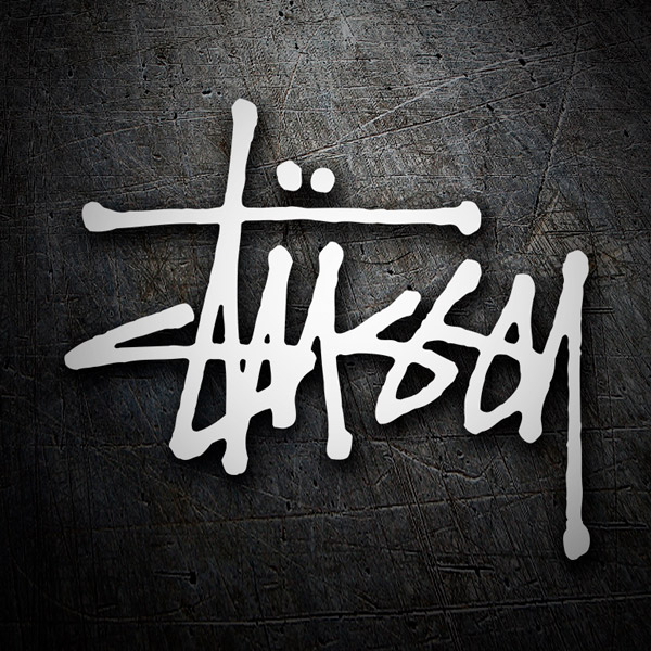 Car & Motorbike Stickers: Stussy