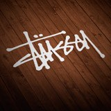 Car & Motorbike Stickers: Stüssy 2