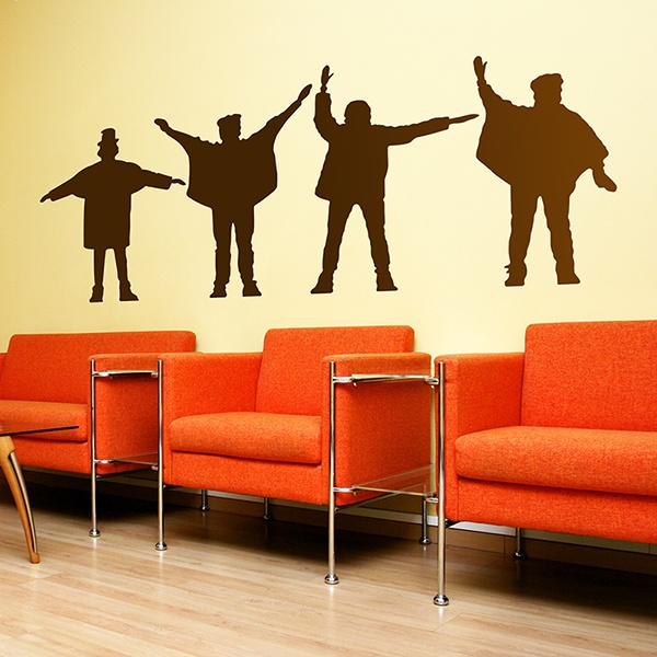 Wall Stickers: The Beatles - Help!