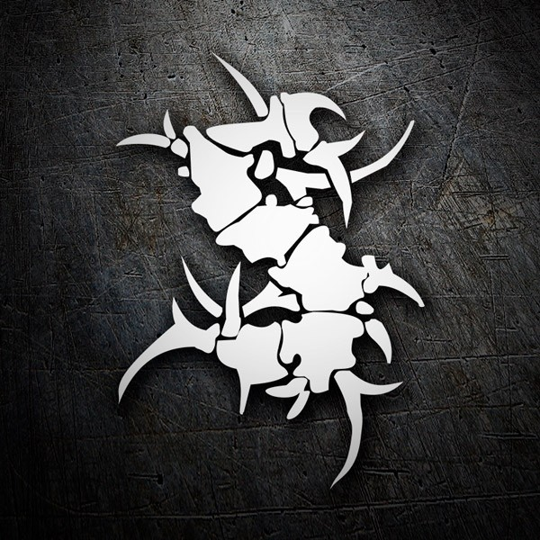 Car and Motorbike Stickers: Sepultura