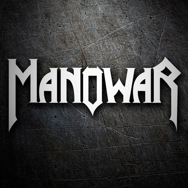 Car and Motorbike Stickers: Manowar