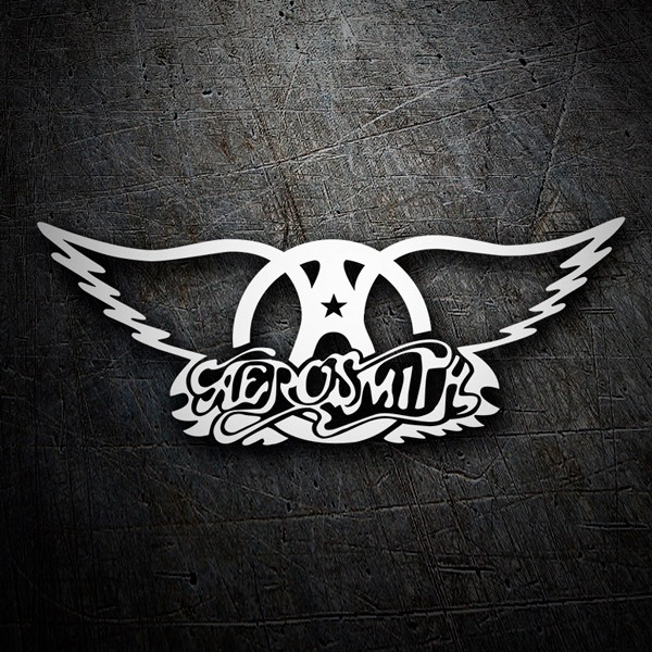 Car & Motorbike Stickers: Aerosmith Rock Metal