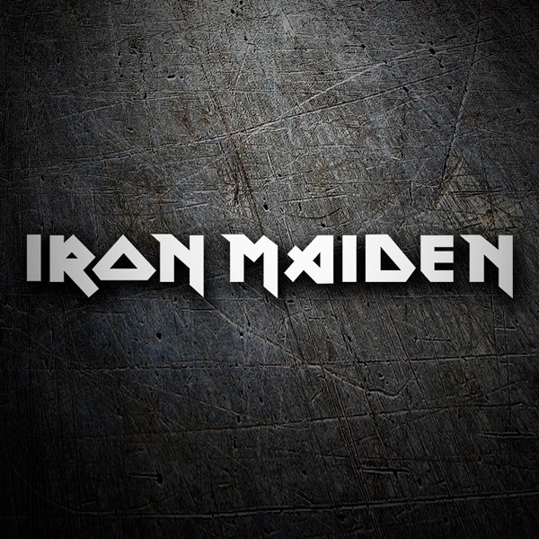 Car and Motorbike Stickers: Iron Maiden