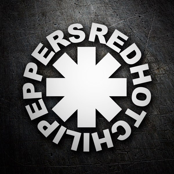 Car and Motorbike Stickers: Red Hot Chili Peppers