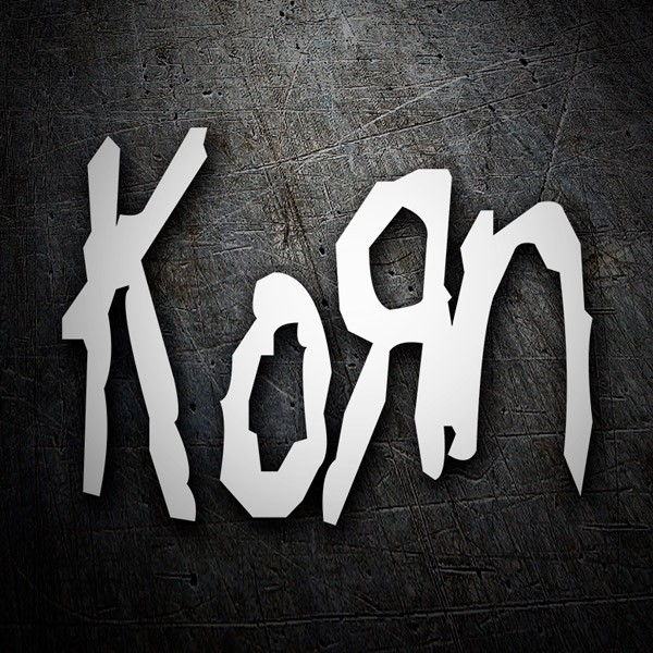 Car and Motorbike Stickers: Korn