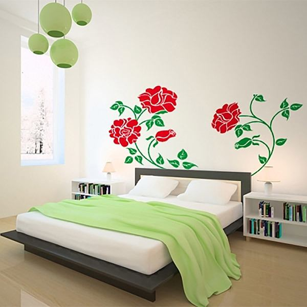 Wall Stickers: Multicolor rose