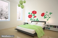 Wall Stickers: Floral Aphrodite 2