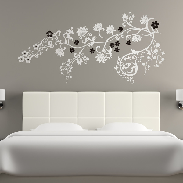 Wall Stickers: Multicolor floral