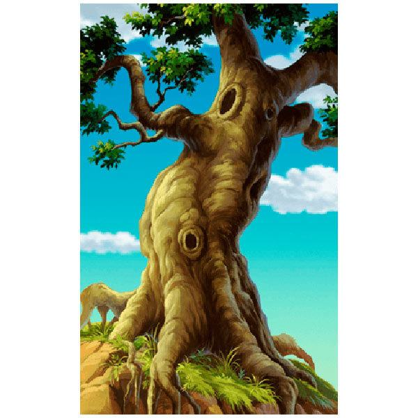 Wall Stickers: Big tree with roots
