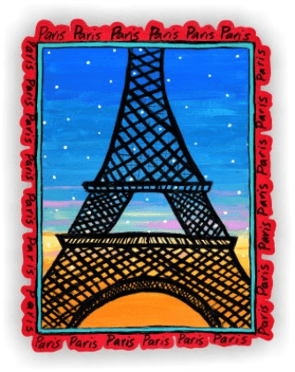 Wall Stickers: Torre Eiffel