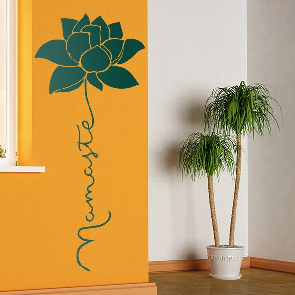 Wall Stickers: Vertical Namaste