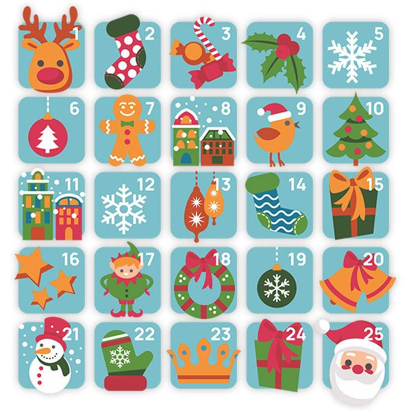 Wall Stickers: Advent Calendar