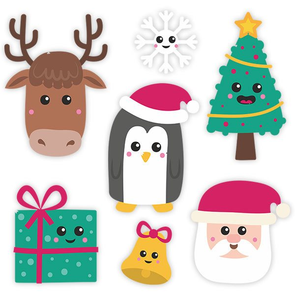 Wall Stickers: Christmas Symbol Kit