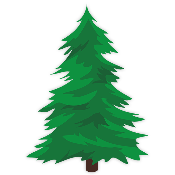 Wall Stickers: Spruce