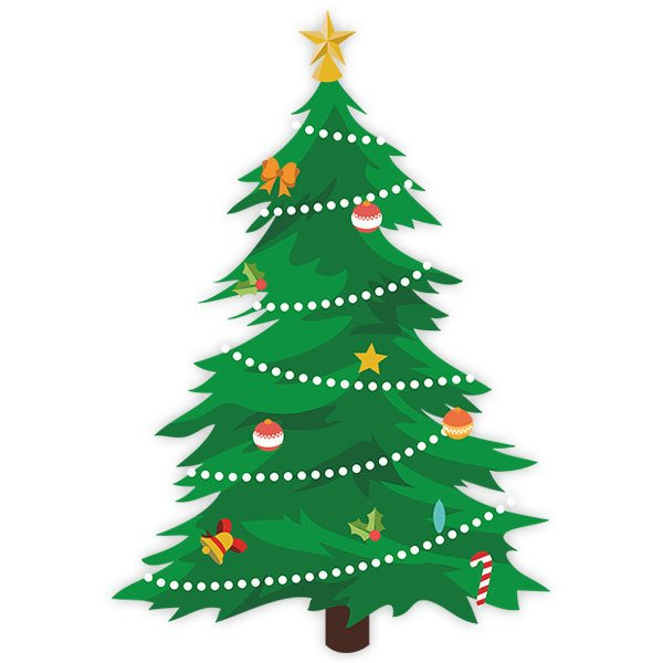 Wall Stickers: Christmas spruce
