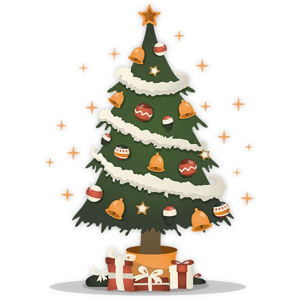 Wall Stickers: Magic Christmas Tree