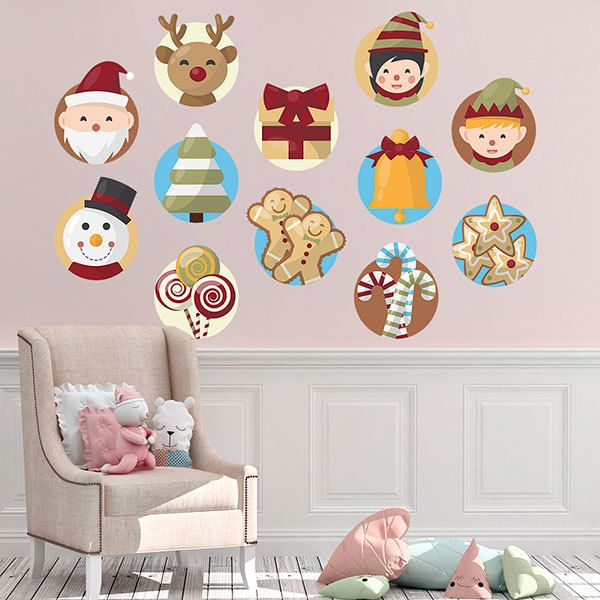 Wall Stickers: Christmas Kit